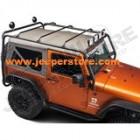 Galerie acier noir Overhead Rack Jeep Wrangler JK (2 portes)