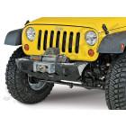 Pare chocs avant acier XRC M.O.D. (partie centrale) (avec porte treuil) Jeep Wrangler JK