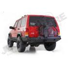 Pare chocs arrière acier avec porte roue de secours pour Jeep Cherokee XJ
