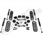"""Kit réhausse Teraflex +2.5"""" (+6.50cm) avec amortisseurs VSS 9550 pour Jeep Wrangler JL (2 portes)"""