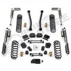 """Kit réhausse de suspension 2.5"""" Teraflex Sport ST2 avec amortisseurs Falcon SP2 3.1 Jeep Wrangler JL Unlimited (4 portes)"""