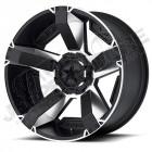 Jante aluminium KMC XD811 Machined 8x17 - 5x127 - ET: +10