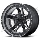 Jante aluminium KMC XD827 RS III Machined 9x17 - 5x127 - ET: -12