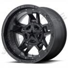 Jante aluminium KMC XD827 Mat Black - 5x127 - 9x17 - ET: -12