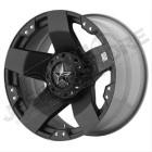 Jante aluminium noir mat RockStar XD822 Monster 2 - 5x127 - 9x18 - ET: 0