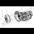 Boite automatique 42RLE (4 vitesses) avec convertisseur pour 3.8L V6 essence Jeep Wrangler JK
