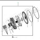 Pompe à huile complète pour boite automatique 5 vitesses 2.8L CRD 177ch. VM (545RFE) Jeep Wrangler JK