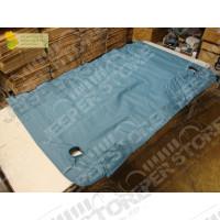 """New Old Stock: Bache Couvre plateau arrière Kayline """" duster """" (couleur: Bleu) pour Jeep Wrangler YJ"""