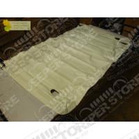 """New Old Stock: Bache Couvre plateau arrière Kayline """" duster """" (couleur: Blanc simili cuir) pour Jeep Wrangler YJ"""