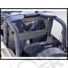 Windjammer, (rideau verticale derrière les sièges avant) Couleur: Gris , Jeep CJ7, Wrangler YJ