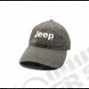 Casquette gris/bleu Jeep avec écrit Jeep (taille réglable)