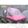 "New Old Stock: Bache Kayline ""FastBack"" (couleur: rose) pour Jeep CJ7 et Wrangler YJ"
