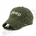 Casquette verte Jeep avec écrit Jeep (taille réglable)