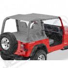 "Bikini Version ""Safari"", Couleurs: charcoal, Jeep Wrangler YJ"