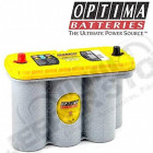Batterie Optima Jaune 12V - CCA: 975A - C20: 75AH - C5: 65AH , 2.8L CRD Jeep Wrangler JK