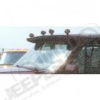 Casquette de toit sunvisor Jeep Cherokee XJ
