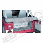 New Old Stock: Etui de rangement gris pour bâche pliée Jeep CJ, Wrangler YJ