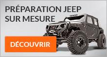 Préparation 4x4 Jeep
