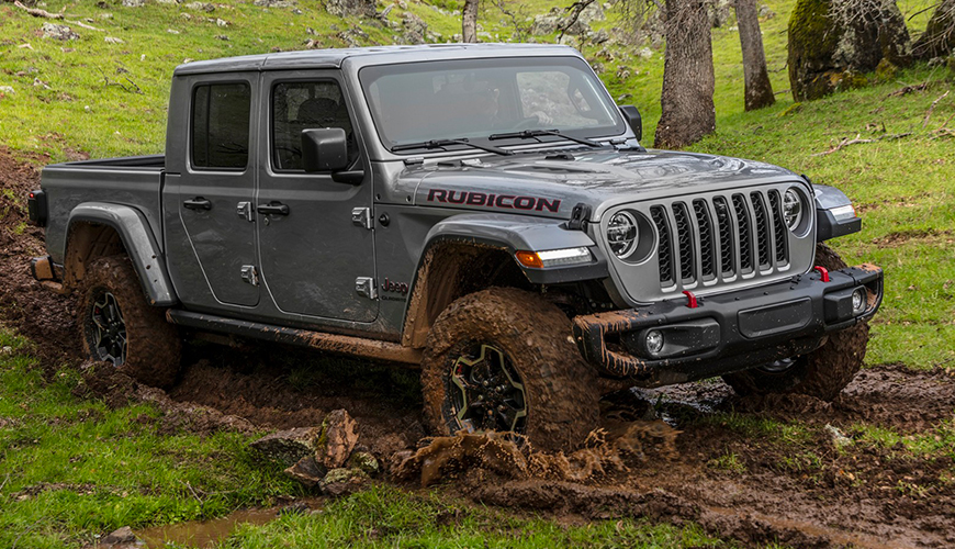 Jeep Gladiator Rubicon d'origine