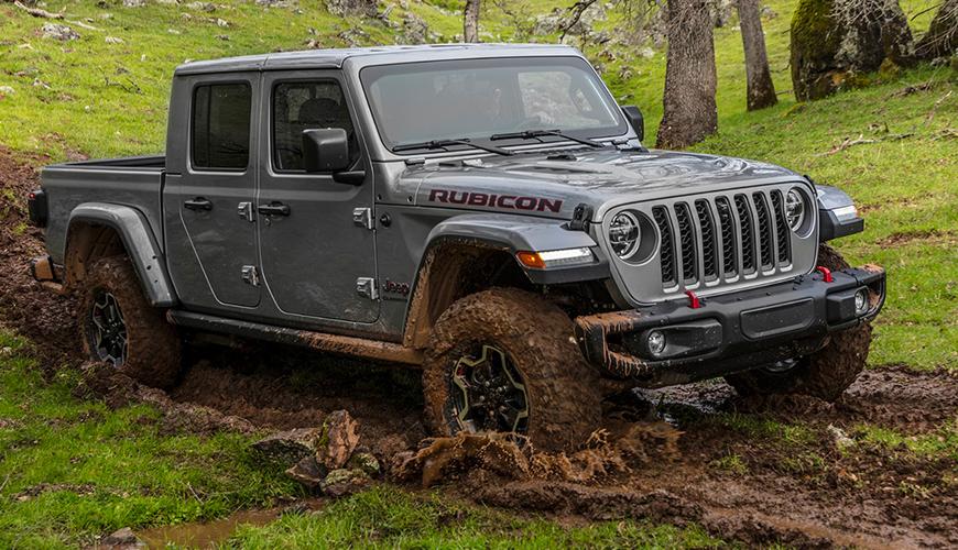 Jeep Gladiator Rubicon d'origine