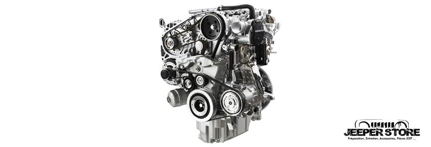Distribution Jeep Wrangler JL 2.2L MultiJet Diesel année 2018 à aujourd'hui : tous les 120 000km ou tous les 6 ans