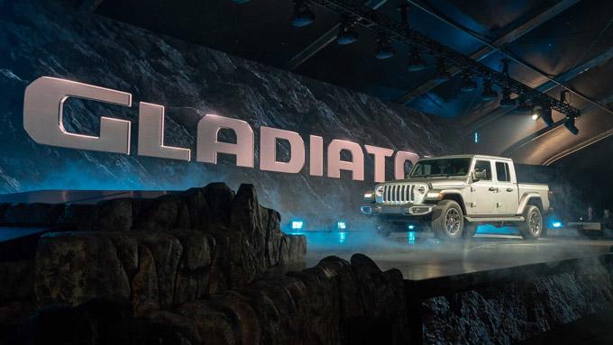 Jeep Gladiator, un nouveau pick-up dans l'arène!