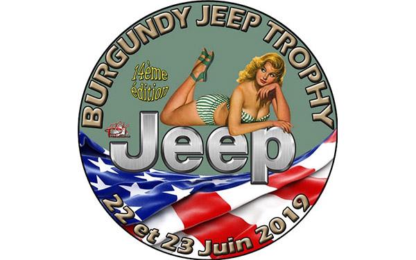 Burgundy Jeep Trophy