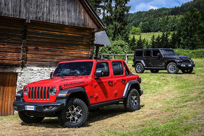 Plan d'hybridation / électrification des motorisations Jeep