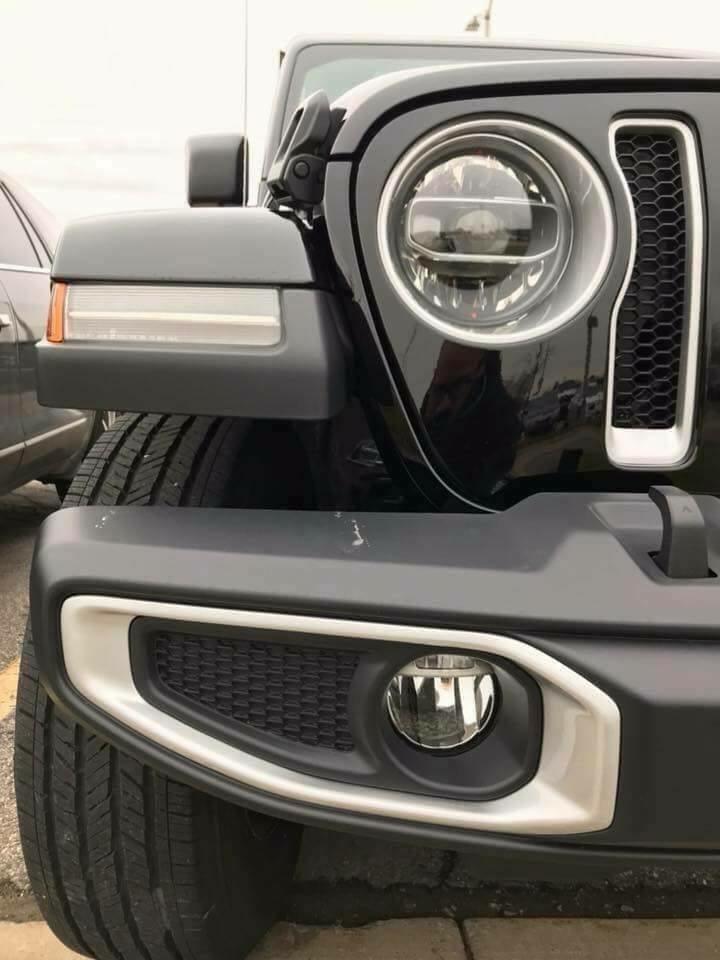 Photos plus en détails du nouvelle Jeep Wrangler JL 2018