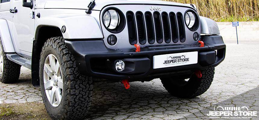 Changer son pare choc Jeep d'origine - Pare choc Jeep Wrangler JK - Pare choc Mopar Jeep