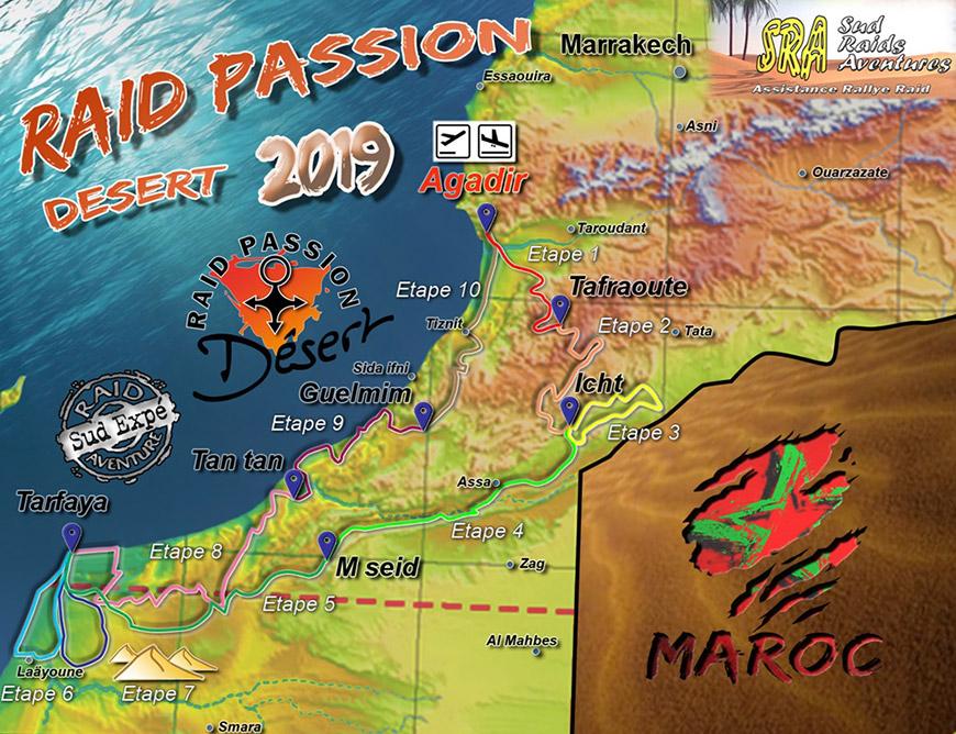15ème Raid Passion Désert 2019 - Maroc
