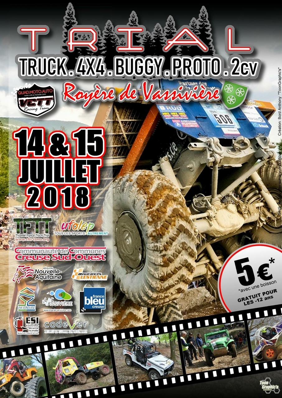 Trial 4X4, Buggy et Truck de Vassivière