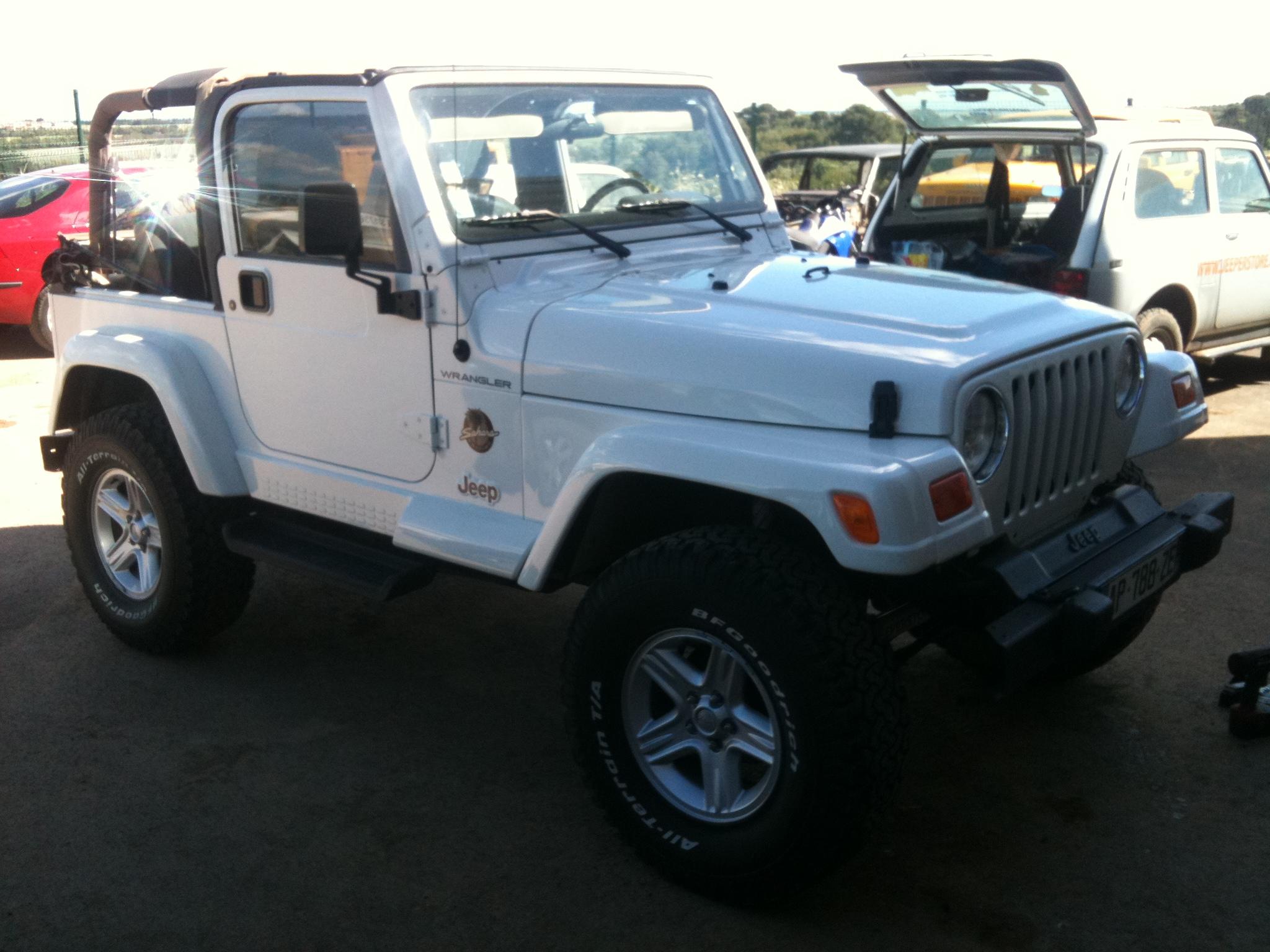 Préparation Jeep Wrangler TJ 4.0L Sahara