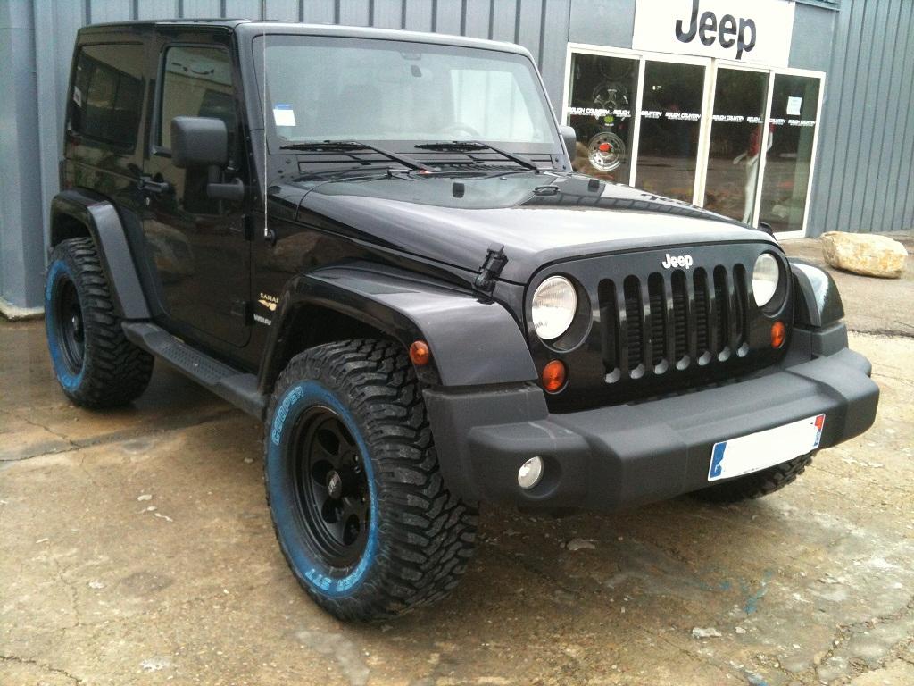 Préparation soft. Découvrez la préparation d'un Jeep Wrangler JK 2.8L CRD version Sahara.....