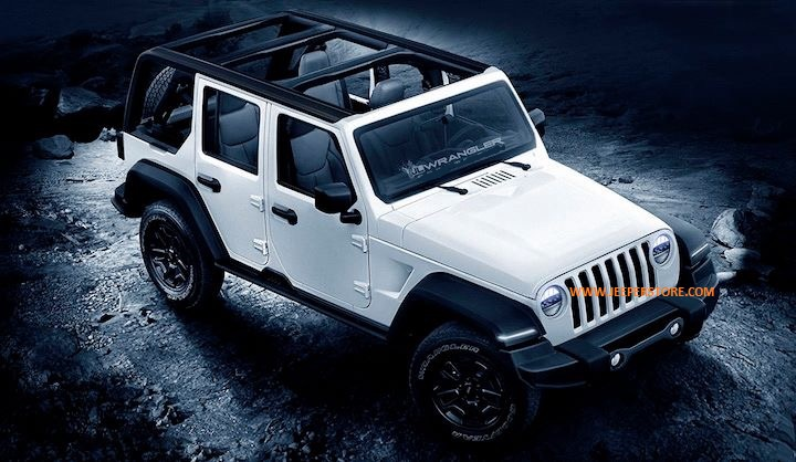 NEWS ! Sortie du nouveau Jeep Wrangler JK devient le Wrangler JL pour fin 2017 début 2018