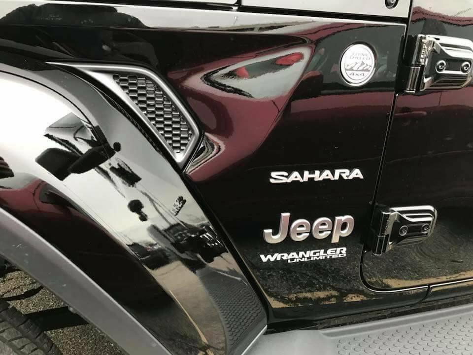 Quelques photos plus en détails du nouveau Jeep Wrangler JL 2018