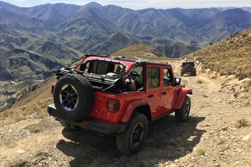 Nouveau Jeep Wrangler JL 2018