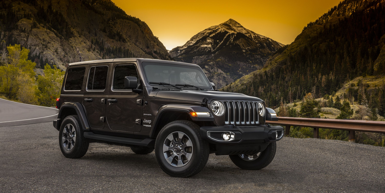 Voici les premières photos officielles du Jeep Wrangler JL avant sa présentation au Salon de Los Angeles.