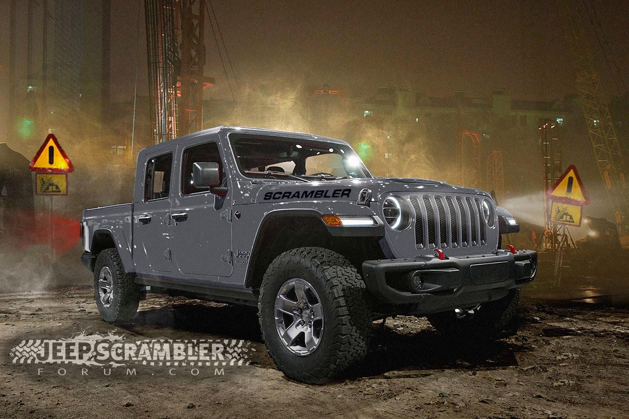 Pick-up Jeep Scrambler