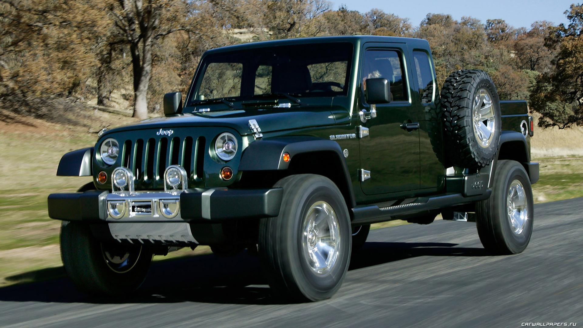 concept car de la marque jeep