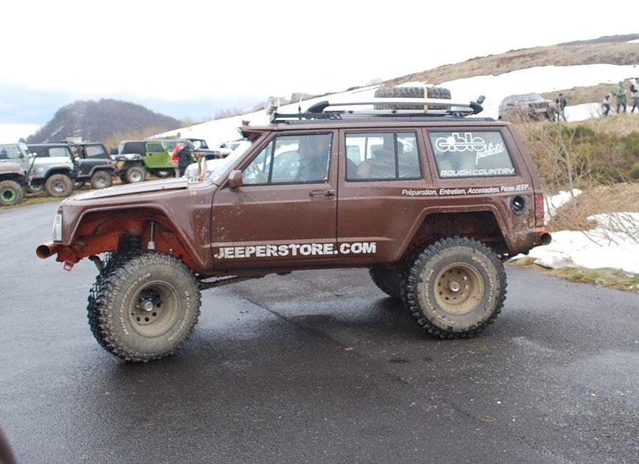 Préparation Jeep Cherokee XJ 4.0L Limited