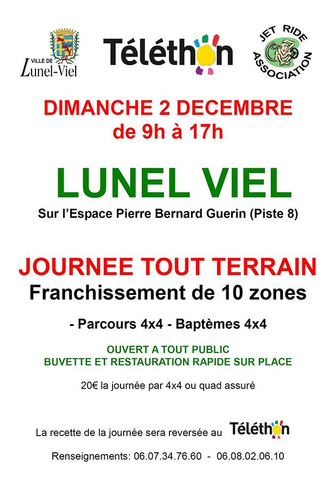 Journée tout terrain - 02 décembre 2018 - 34400 Lunel-Viel