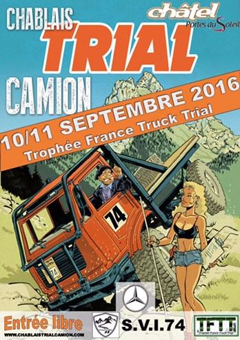 Championnat de Trial Camion le 10 et 11 septembre 2016 à Chablais ...